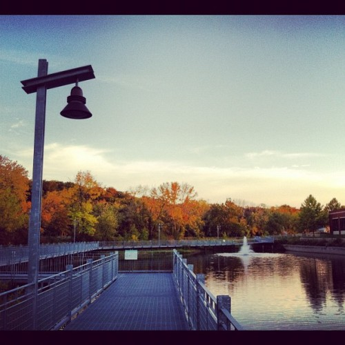 #coralville #run #fall #iowa (Taken with Instagram)