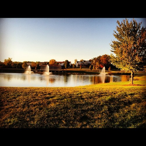 #coralville #run #iowa  (Taken with Instagram at north ridge park)