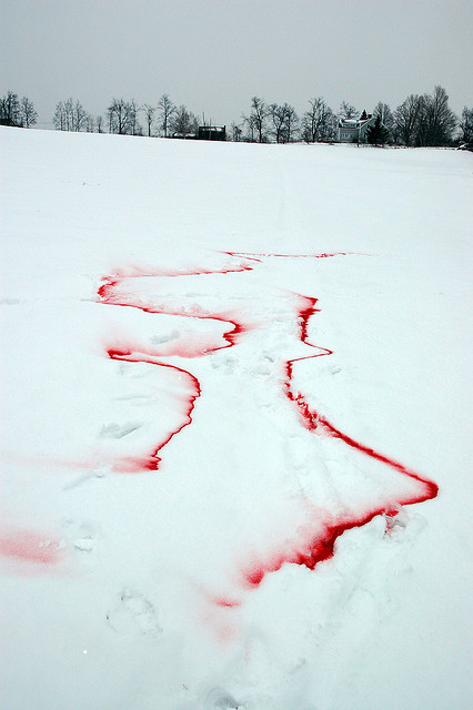 n-vigating:  Mother Nature on her period. trueee.