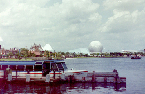 rememberingdisney:  Looking back toward Future World by flamegirl_08 on Flickr.