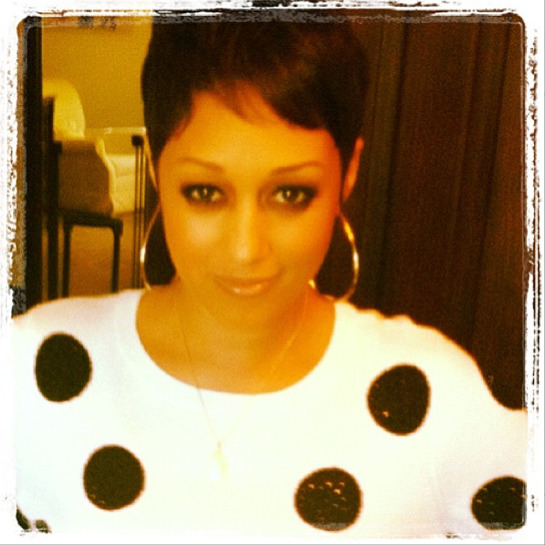 Tia Mowry New Cut