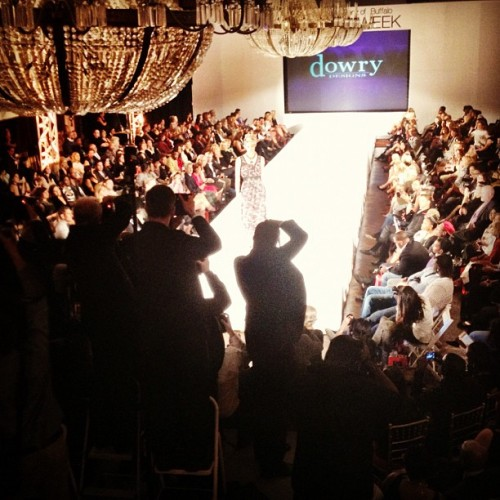@dowrydesigns collection #mbbfw  (Taken with Instagram at Statler City)