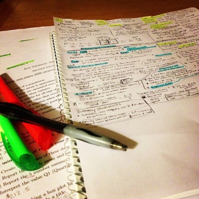 Don't worry, I'm halfway through my notes. #goingstrong (Taken with Instagram)