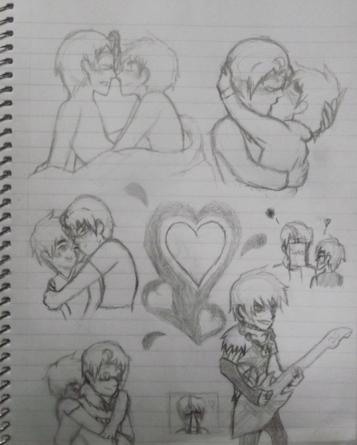 Here have some of my usuk doodles. ]]>
