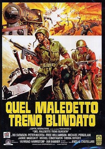 "Italian movie poster for the 1978 film ""The Inglorious Bastards"" starring Bo Svenson and Fred Williamson. Click the pic to watch the original theatrical trailer."
