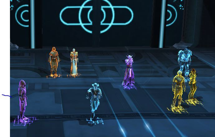 Tron: SWTOR  This is from the new operation, Terror from Beyond. It was so much fun but our group dissolved before we could get to the end.