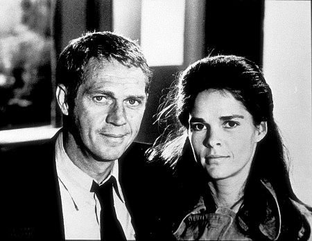 Steve McQueen and Ali Macgraw The Getaway 1972