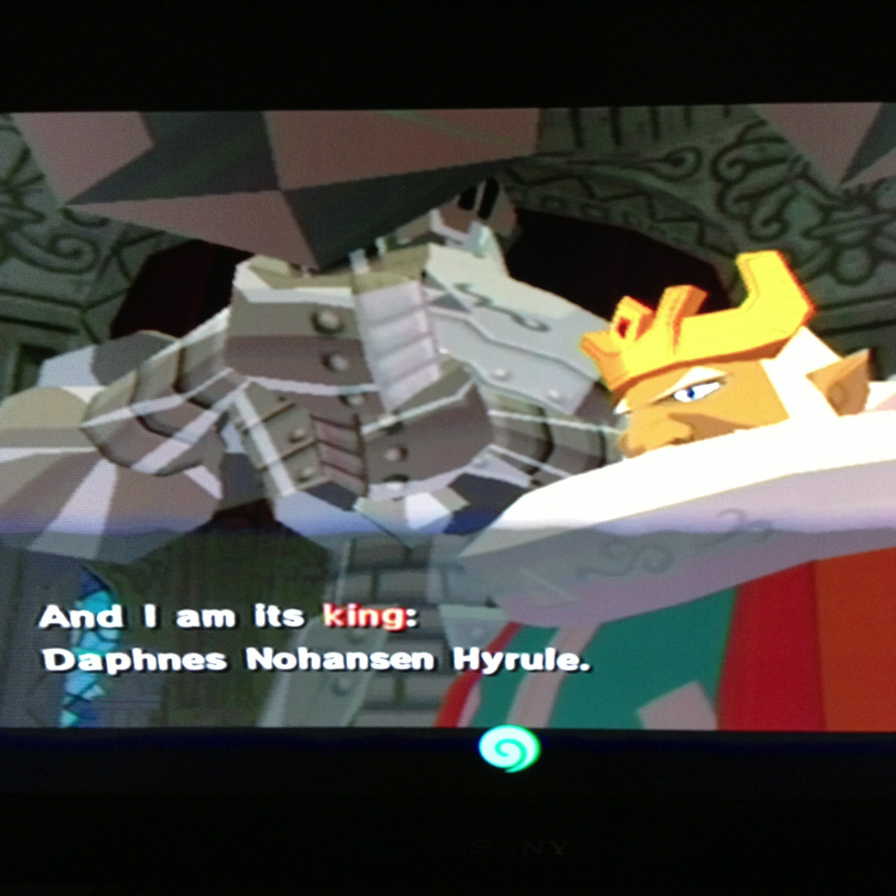 And I am its king:  Daphnes Nohansen Hyrule