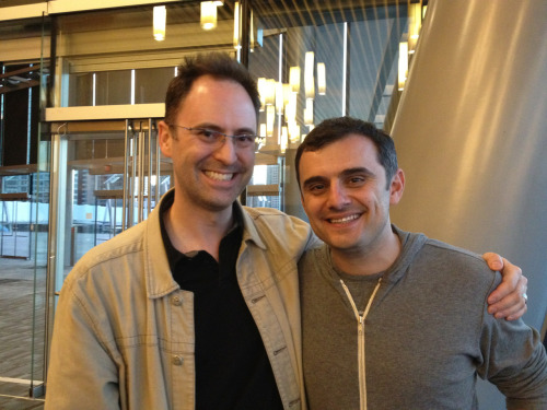 Had pleasure of meeting @garyvee at #FPReach - extremely engaging, humble, and generous w/his time
