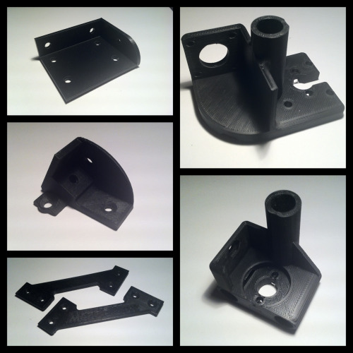 Structural Parts: printed to last. 3D printed parts are not just for looking cool.