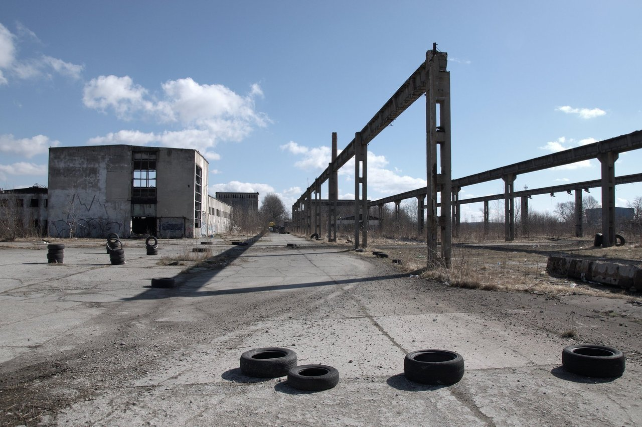PREFABET (via Panoramio - Photo of Abandoned factory)