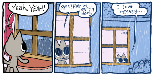 "Yes, Rain! To see all Sad Cats comics just use the tag ""sad cats"""