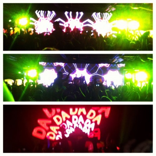 @dadalife was amazing ! 😃 Except for the almost getting killed in the mosh pit part 😒 @klam1219 @ashastry #dadalife #feedthedada #edm  (Taken with Instagram at Wonderland Ballroom)