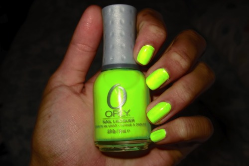 Brightest nail polish I ever had…