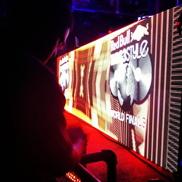 Tonight 🌙 #Redbull3style #Chicago (Taken with Instagram at Reggie's)
