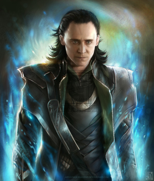 hatie123:  Loki - The Avengers by =uniqueLegend