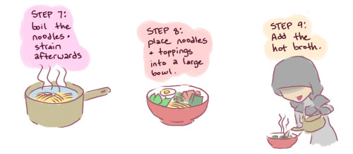 choco-minto:  Kasumi Goto's Recipe for Ramen For the full view image, Here you go. It takes a long time to cook, but totally worth it!