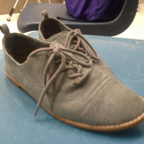 Shoes:) @ilylaughsalot  #shoes #blue #grey  (Taken with Instagram)