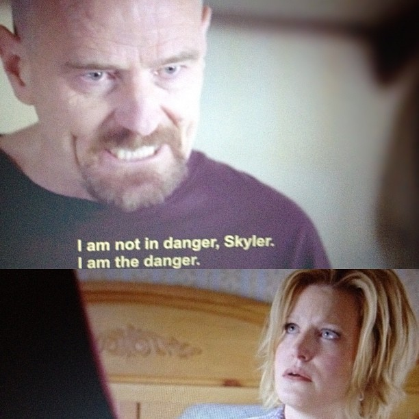 #shewantsthedick :) #skyler #walterwhite #breakingbad #funny #photooftheday  #followme #bestshow #meth #lol #obsessed  (Taken with Instagram)