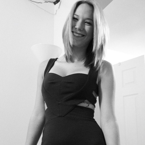 #blackandwhite #bw #bnw #dress #hair #girl #sexy #blonde #me #girl #iloveyou #gorgeous  (Taken with Instagram)