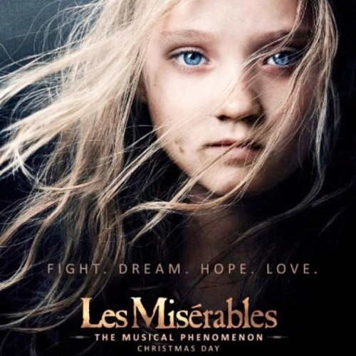 So. Freaking. Excited. #LesMiserables #Christmas #Musical #Movie (Taken with Instagram)