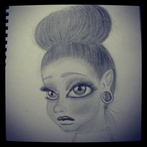 mzcigz:  #dailydoodle (Taken with Instagram)