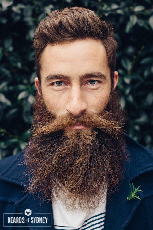 beardsofsydney:  Scott (aka This Is Beard), Milsons Point  One of the most impressive beards i photographed for this project. And a gentleman too. Check out his own beard blog.