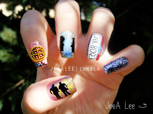 Supernatural Nails 4 | Dean's Favorite Things