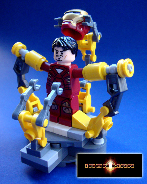 herochan:  Iron Man Created by Brandon Griffith (via:itlego)