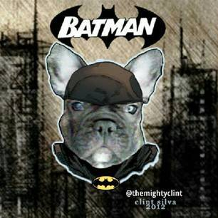 BATMAN the DOG by CLINT SILVA