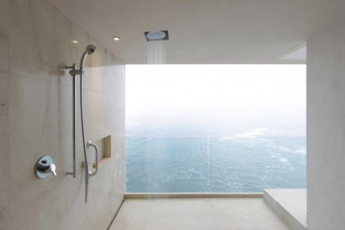 Reason to get dirty. homedesigning:  Shower Room With A View
