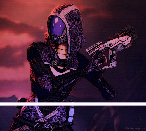 calibratemegarrus:  + Tali'Zorah vas Normandy +