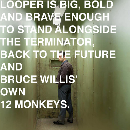 Out today! Looper film review
