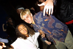 c0caino:  a rare photo of rihanna and miley cyrus