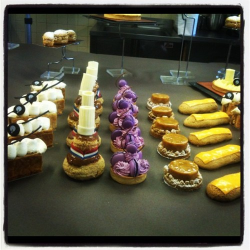 Final buffet! #france  (Taken with Instagram at ENSP (Ecole Nationale Supérieure de la Pâtisseri)
