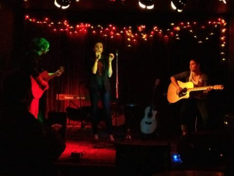 My gig from the other night at the Empress! :) with my girlfriend Madie and her sister Kaity!!! And Had my first radio interview today!! Things have been going very good!!!