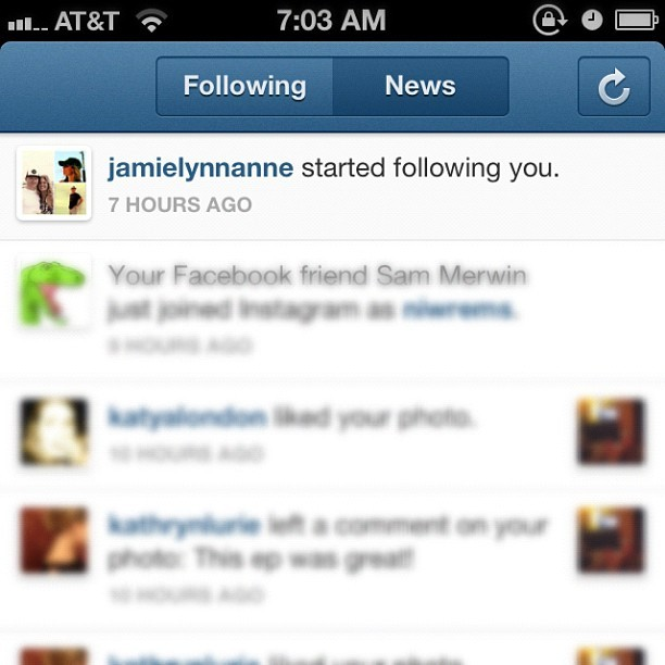 @jamielynnanne you mean this entire time, you haven't been following me? (Taken with Instagram)
