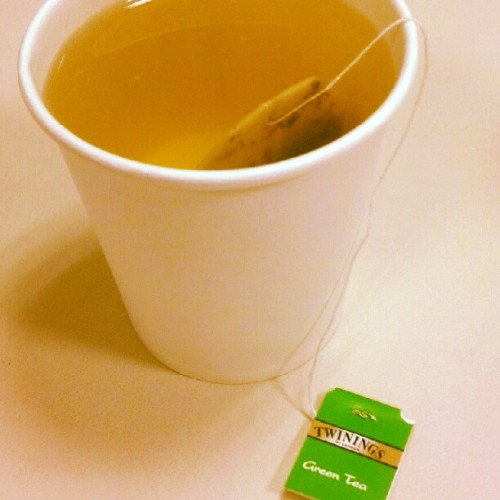 Sipping on some green #Tea #yummy  (Taken with Instagram at NOMURA)