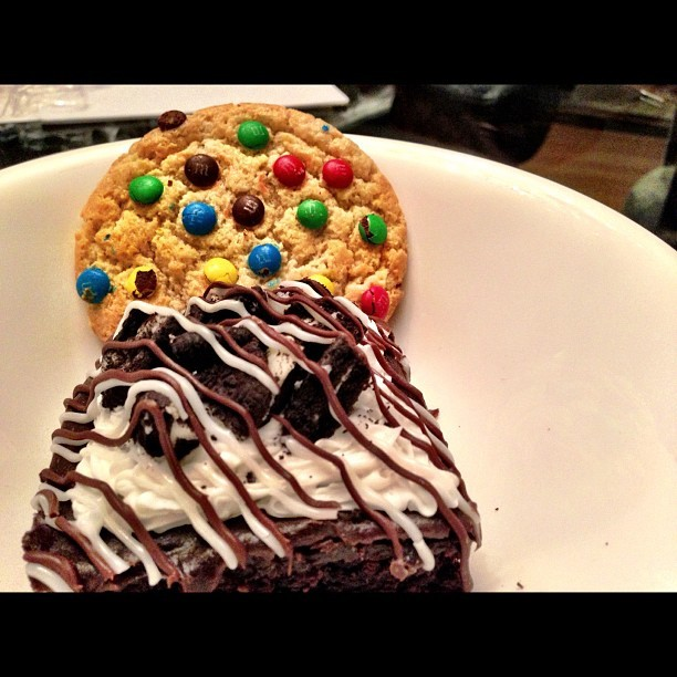 #Cookie + #Oreo #Brownie time…  (Taken with Instagram)