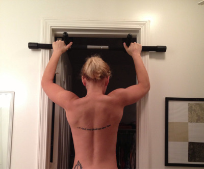 barbellsandbeakers:  Back progress