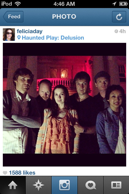 """Dr Horrible reunion at Haunted Play. So fun! @ Haunted Play: Delusion"""