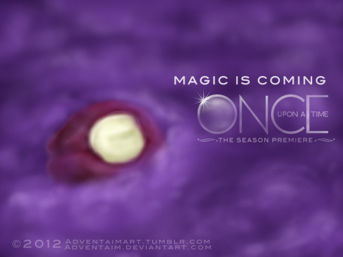 HAPPY SEASON PREMIERE, ONCERS!Part 1 of my OUAT season 2 premiere fanart. The smoke monster crawling over Snow's half-eaten apple.Gonna post part 2 tomorrow :3