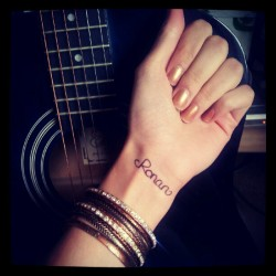 Wrote 'Ronan' on my wrist for today along with many other Taylor Swift fans, to remember the little who passed away. RIP sweetie. (Taken with Instagram)