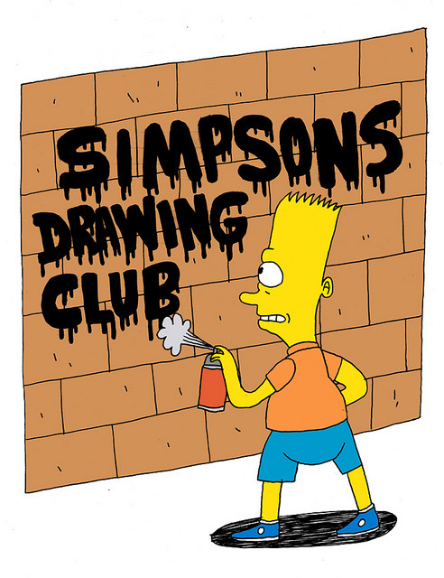 somethingsforyoutolookat:  Simpsons Drawing Club by Jack Teagle on Flickr.