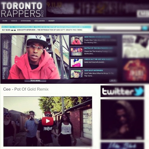 Shouts to @torontorappers for the blog love on the 'Pot Of Gold' video! #Toronto #love #blog #props #video #post #canada #rappers #torontorappers #hiphop #rap #music #themovementfam #potofgold #daps #vimeo #horsebliss @horsebliss  (Taken with Instagram)