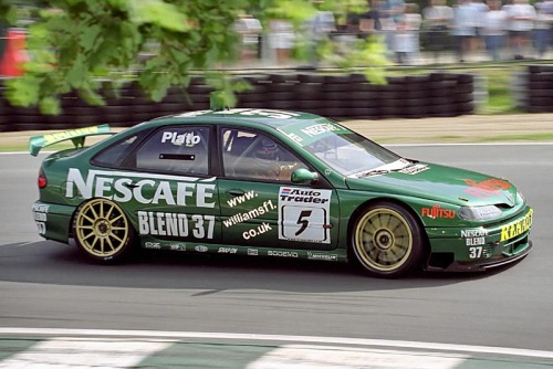 Jason Plato, Williams Renault Laguna, BTCC 1999.
