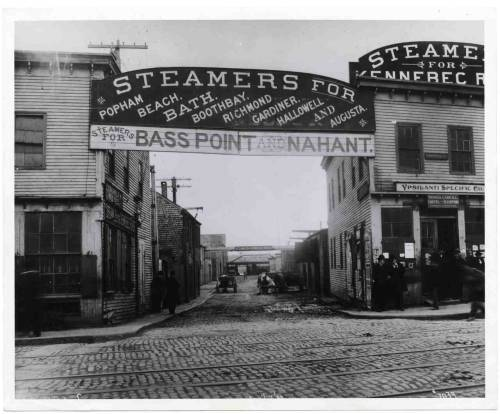 Lincoln Wharf, 1899,  Landmarks Commission photographs (Accession #2013-002)  This work is free of known copyright restrictions. Please attribute to City of Boston Archives