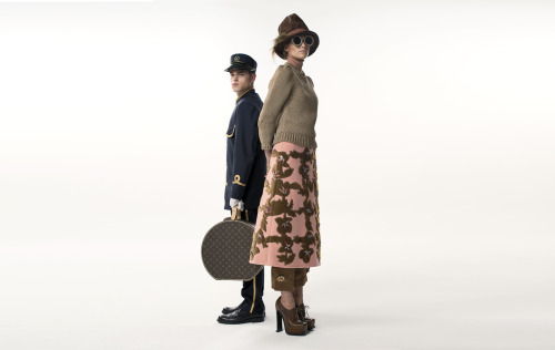 Here is our new film PRET_A_PORTERS for French fashion house LOUIS VUITTON. The film features items from the LV autumn/winter 2012 collection and references their iconic 'train station' fashion show from Paris earlier in the year. The show's unique element was the inclusion of a porter to carry the LV luggage for each model. Our film, as you will see, takes the porter character to another level before closing with an eloquent sign off…  We'd like to thank KARL&TYNAN for their huge post production assistance, LITTLE YELLOW JACKET for all things pre-prod, DIRECT LIGHTING for everything that lit the room, MrMOCO for all matters 'motion control', the Paris office of ICON AVALLONE for their production assistance throughout, Sam Bond for his excellent BTS movie, HOT CHIP for the soundtrack, Kay Korsh for styling, Aly Hazlewood for make up and hair and our models Marina Jamieson and David Ross Enjoy!