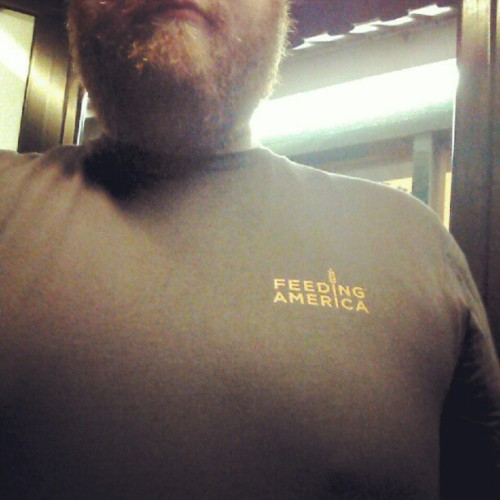 greenschmoodle:  New work shirts. Great cause, hilariously unfortunate placement. #breastfeedingamurrrrica (Taken with Instagram)  Omnomnom