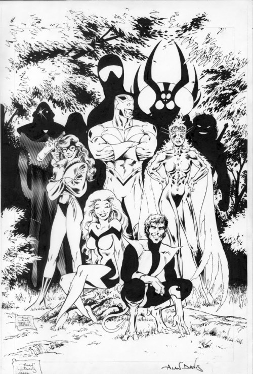 Excalibur by Alan Davis